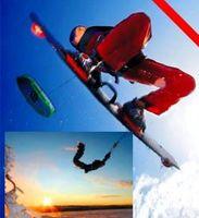 """Kiten & Snowkiten mit der Kiteschule """"Kitesportschule - Simon"""""""