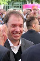 """Niels Annen bei Veranstaltung """"Klartext Open Air"""" der SPD in Hamburg."""