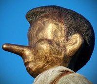 Unwahrheit: User entdecken ohne lange Nasen. Bild: Wikipedia, cc Mrkgrd