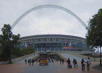 Das Wembley-Stadion (englisch Wembley Stadium) ist ein Stadion in Wembley, einem Teil des Londoner Stadtbezirks Brent. Das Stadion ist hauptsächlich auf Grund von Fußballspielen bekannt. Seit seinem Neubau (2003–2007) fasst das Stadion 90.000 Zuschauer und verfügt über einen charakteristischen 133 m hohen Bogen. Das Stadion ist nach dem Camp Nou in Barcelona das zweitgrößte Stadion Europas.