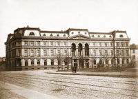 Warschauer Kronenberg-Palast 1871 (Symbolbild)