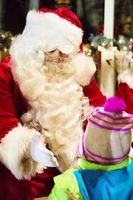 Weihnachtsmann: Harrods begrenzt Besuche.