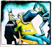 Jeden Tag glauben weniger Menschen an die offizielle Verschwöhrungstheorie ihrer Regierungen (Symbolbild)