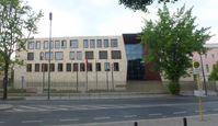 Der Neubau der Türkischen Botschaft am alten Standort.
