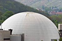 Alt-AKW und Pannenreaktor Neckarwestheim. Bild: Martin Storz / Greenpeace