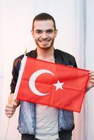 """Elnur Huseynov aus Aserbaidschan ist der inoffizielle Teilnehmer der Türkei am Eurovision Song Contest 2015 in Wien. Bild: """"obs/Euromedia Company"""""""
