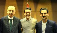 Erdogan, Özil und Gündogan (2018)