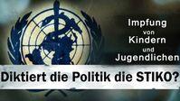 """Bild: SS Video: """"Impfung von Kindern und Jugendlichen: Diktiert die Politik die STIKO?"""" (www.kla.tv/19789) / Eigenes Werk"""