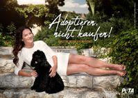 Christine Neubauer und Hund Gismo