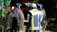 Bundespolizei und Feuerwehr im Einsatz (Bild: Feuerwehr Celle)