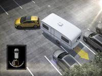 Mit dem Trailer Assist von Volkswagen einfach und sicher ein Gespann rangieren Bild: VW