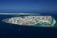 Malé, die Hauptstadt der Malediven
