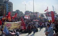 Türkei: Demonstranten auf dem Taksim-Platz am 4. Juni 2013.