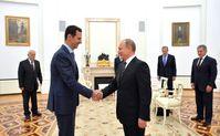 Baschar al-Assad und Wladimir Putin (2015)