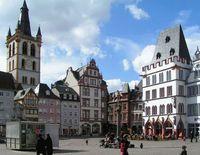 Trier: Hauptmarkt im Zentrum