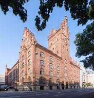Der Bayerische Verfassungsgerichtshof ist im Neuen Justizgebäude in München untergebracht.