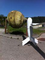 Die vom US Militär Laboratory beauftragte Drohne- ein Äquivalent zum PERMAFLY System von AERIE