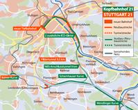 Alternativkonzept Kopfbahnhof21 im Vergleich zu Stuttgart21