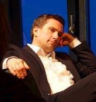 Martin Dulig bei einer Veranstaltung der Friedrich Ebert Stiftung in Bautzen