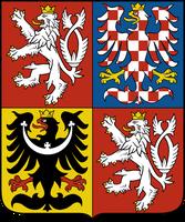 """WappenTschechische Republik: Wahlspruch: Pravda vítězí (tschechisch für """"Die Wahrheit siegt"""")"""