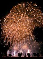 Feuerwerk (Symbolbild)