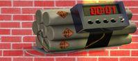 Zeitbombe, Dynamit (Symbolbild)