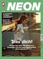 """Cover NEON 5/2017 / Bild: """"obs/Gruner+Jahr, NEON"""""""