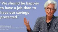 """""""Wir sollten glücklicher sein eine Arbeit zu h aben als das unsere Ersparnisse geschützt sind"""" Bild: zVg SMH / WB / Eigenes Werk"""