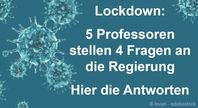 Fünf Professoren wandten sich mit vier Fragen zum Corona-Lockdown am 29. April 2020 an alle Bundestagsfraktionen. Die AfD-Fraktion packte diese Fragen in eine kleine Anfrage an die Bundesregierung. Deren Antwort liegt jetzt vor.