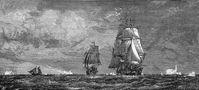 Die HMS Erebus war ein Kriegs- und Forschungsschiff der Royal Navy im 19. Jahrhundert.
