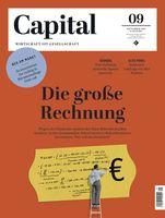 Capital 9_21_Cover Bild: Capital, G+J Wirtschaftsmedien Fotograf: Capital, G+J Wirtschaftsmedien