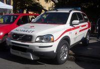 """Das am häufigsten verbreitete """"Arbeitsmittel"""" der Notfallsanitäter in Österreich, das Notarzteinsatzfahrzeug"""