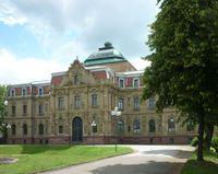 Ehemaliges Erbgroßherzogliches Palais, heute Hauptgebäude des Bundesgerichtshof (BGH)