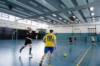 In der neuen Methode helfen Fotos von Spielsituationen, Taktiken – hier ein Konter – mental einzuüben. Quelle: Foto: CITEC/Universität Bielefeld (idw)