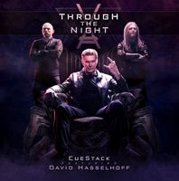 Offizielles Cover zur EP 'CueStack feat. David Hasselhoff - Through the Night' Bild: CueStack
