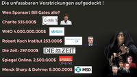 Bill Gates finanziert nicht nur Lobbyorganisationen sondern auch deutsche Medienanstallten (Symbolbild)
