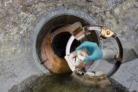Sensorring für den Einsatz in Abwasseranlagen. Quelle: © Volker Mai (idw)