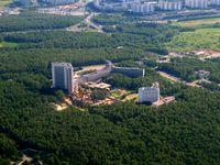 Die Sluschba wneschnei raswedki (SWR; deutsch Dienst der Außenaufklärung) ist der russische Auslandsnachrichtendienst. Gebäude der Zentrale.