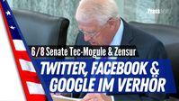 "Bild: Screenshot Video: ""6/8 U.S. Senate Tec-Mogule & die Zensur / Dorsey, Zuckerberg & Pichai müssen vor dem Senate aussagen"" (https://youtu.be/8q3TmAlgw24) / Eigenes Werk"