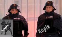 Bayrische Polizei: Nach äußerst finsteren Uniformen soll jetzt auch finstere Gestze folgen...