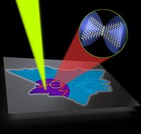Lichtreflex: Neues Verfahren macht einfach Defekte sichtbar.