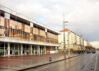 Fassade an der Wilsdruffer Straße