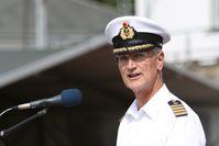 Kapitän zur See Matthias Kähler Bild: Bundeswehr