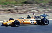 Peter Gethin im McLaren M19A im Jahr 1971. Bild: Lothar Spurzem / wikipedia.org