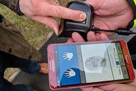Fingerabdruck-Scanner Bild: gov.uk