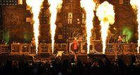 Heino gemeinsam mit Rammstein beim Wacken Open Air 2013, Archivbild