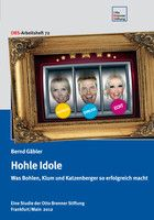 """""""Hohle Idole"""", so der Titel der neuen """"Gäbler-Studie"""""""
