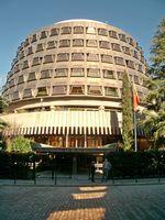 Spanisches Verfassungsgericht in Madrid.
