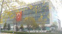 """Redaktionsgebäude der Zeitung """"Zaman"""""""