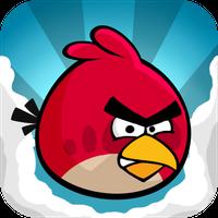 Das Icon des Videospiels Angry Birds